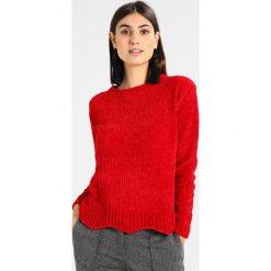 Swetry klasyczne damskie: Springfield CHENILLA Sweter reds