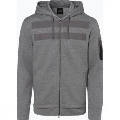Armani Exchange - Męska bluza rozpinana, szary. Czarne bluzy męskie rozpinane marki Armani Exchange, l, z materiału, z kapturem. Za 579,95 zł.
