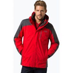 Jack Wolfskin - Męska kurtka funkcyjna, czerwony. Czarne kurtki męskie marki Jack Wolfskin, l, z poliesteru, z kapturem. Za 999,95 zł.