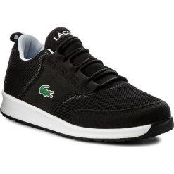 Sneakersy LACOSTE - L.Ight 117 1 Spj 7-33SPJ1004231 Blk/Gry. Czarne buty sportowe dziewczęce Lacoste, z materiału, na sznurówki. W wyprzedaży za 229,00 zł.