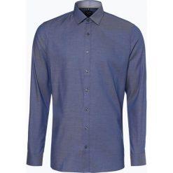 OLYMP No. Six - Koszula męska łatwa w prasowaniu, niebieski. Niebieskie koszule męskie non-iron marki OLYMP No. Six, m, w kolorowe wzory. Za 199,95 zł.