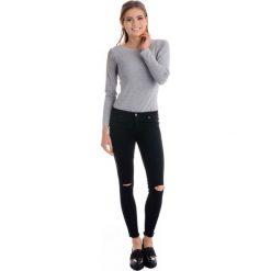 Rurki damskie: Spodnie - 71-H3562 NERO