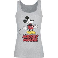 Myszka Miki i Minnie Classic Top damski odcienie szarego. Szare topy damskie Myszka Miki i Minnie, m, z motywem z bajki. Za 54,90 zł.