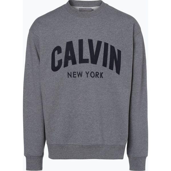 13922778c Calvin Klein Jeans - Męska bluza nierozpinana, szary - Szare bluzy męskie Calvin  Klein Jeans, xl, z jeansu. Za 169,95 zł. - Bluzy męskie - Odzież męska ...