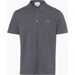 Lacoste - Męska koszulka polo, szary. Szare koszulki polo marki Lacoste, z bawełny. Za 249,95 zł.