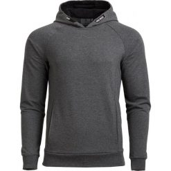 Bluza męska BLM601A - ciemny szary melanż - Outhorn. Szare bluzy męskie rozpinane Outhorn, na lato, m, melanż, z materiału. W wyprzedaży za 59,99 zł.