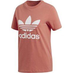 Adidas Trefoil Tee Koszulka damska pomarańczowy/bialy. Białe bluzki damskie Adidas, l, klasyczne, z klasycznym kołnierzykiem. Za 79,90 zł.