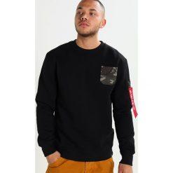 Bejsbolówki męskie: Alpha Industries CAMO POKET  Bluza black