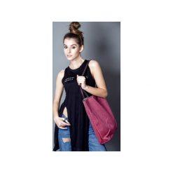 Torba triangle róż. Czerwone torebki klasyczne damskie drops, z bawełny. Za 105,00 zł.
