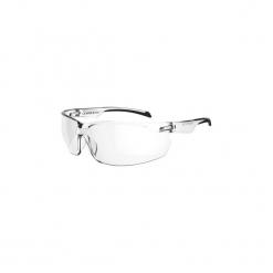 Okulary przeciwsłoneczne na rower ST100 PRZEZROCZYSTE KAT. 0. Szare okulary przeciwsłoneczne damskie lenonki marki ROCKRIDER. Za 19,99 zł.