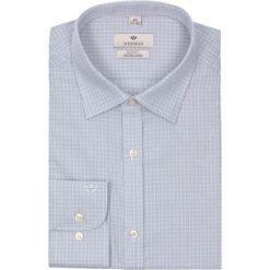 Koszula winberg 2072 długi rękaw slim fit szary. Szare koszule męskie jeansowe marki Recman, na lato, m, z aplikacjami, z klasycznym kołnierzykiem, z długim rękawem. Za 69,99 zł.