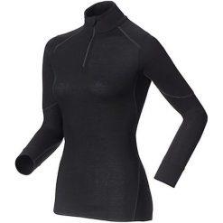 Odlo Koszulka tech. Shirt l/s turtle neck 1/2 zip X-WARM - 155151 - 155151L. Czarne t-shirty damskie Odlo, l. Za 242,95 zł.