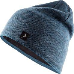 Czapka męska CAM605 - denim - Outhorn. Szare czapki zimowe męskie Outhorn, z denimu. Za 34,99 zł.