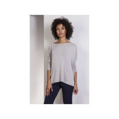 Sweter oversize, SWE114. Szare swetry oversize damskie Lanti, l, z wiskozy. Za 155,00 zł.