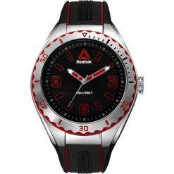 Zegarki męskie: Zegarek kwarcowy w kolorze czarno-srebrnym