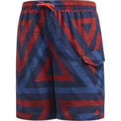 Kąpielówki męskie: Adidas Kąpielówki juniorskie YB AOP SH czerwone r. 164 cm (CV5215)