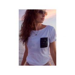 T-shirty męskie: T-shirt 3D(lux) pocket – biała