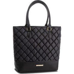 Torebka MONNARI - BAGB300-020 Black. Szare torebki klasyczne damskie marki Monnari, z materiału, średnie. W wyprzedaży za 199,00 zł.