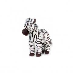Maskotka DANTE National Geographic Zebra. Szare przytulanki i maskotki marki DANTE, z materiału. Za 84,90 zł.