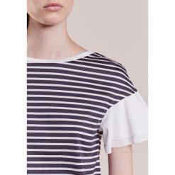 T-shirty damskie: WEEKEND MaxMara PUGNALE Tshirt z nadrukiem riga navy/bianco