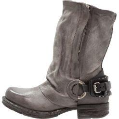 A.S.98 Kowbojki i obuwie motocyklowe nebia. Szare buty zimowe damskie marki A.S.98, z materiału. Za 1029,00 zł.