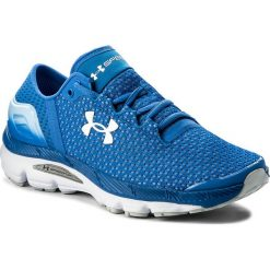 Buty UNDER ARMOUR - Ua W Speedform Intake 2 3000290-400  Blu. Niebieskie buty do biegania damskie marki Salomon, z gore-texu, na sznurówki, gore-tex. W wyprzedaży za 269,00 zł.
