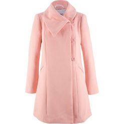 Płaszcz bonprix stary jasnoróżowy. Czerwone płaszcze damskie bonprix, retro. Za 219,99 zł.