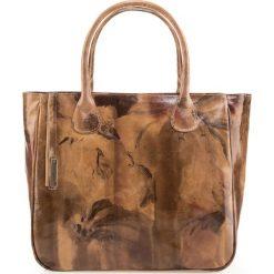 Torebka damska 85-4E-050-X4. Brązowe torebki klasyczne damskie Wittchen, zdobione. Za 479,00 zł.