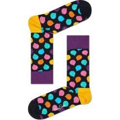Happy Socks - Skarpetki Singing Birthday Gift Box (3-pack). Czarne skarpetki damskie Happy Socks, z bawełny. W wyprzedaży za 89,90 zł.