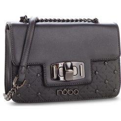 Torebka NOBO - NBAG-F4370-C019 Szary. Szare torebki klasyczne damskie Nobo, ze skóry ekologicznej, bez dodatków. W wyprzedaży za 159,00 zł.