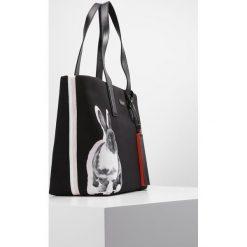 PS by Paul Smith LUCKY RABBIT  Torba na zakupy black. Czarne shopper bag damskie PS by Paul Smith. W wyprzedaży za 840,95 zł.
