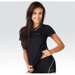 Gwinner Koszulka damska T-shirt CLASSIC IX Light Line czarna r. XS. Czarne topy sportowe damskie marki Gwinner, xs. Za 31,51 zł.