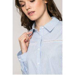 Answear - Koszula Wild Nature. Szare koszule damskie marki ANSWEAR, m, w paski, z bawełny, casualowe, z klasycznym kołnierzykiem, z długim rękawem. W wyprzedaży za 69,90 zł.