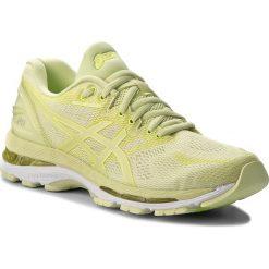 Buty ASICS - Gel-Nimbus 20 T850N Limelight/Limelight/Safety Yellow 8585. Żółte buty do biegania damskie Asics, z materiału. W wyprzedaży za 499,00 zł.