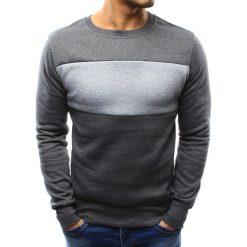 Bluzy męskie: Bluza męska bez kaptura antracytowa (bx3297)