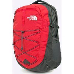 The North Face - Plecak. Czerwone plecaki męskie The North Face, w paski, z nylonu. W wyprzedaży za 299,90 zł.