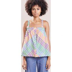 Bluzki asymetryczne: J.CREW SANDSTONE CAMI Bluzka rainbow multi