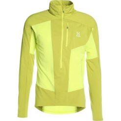 Haglöfs ROCK MID MEN Bluza z polaru star dust/budgie gre. Żółte bluzy męskie rozpinane marki Haglöfs, m, z materiału. W wyprzedaży za 377,40 zł.