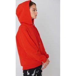 Bluzy damskie: MSCH Copenhagen Bluza Julli – Red