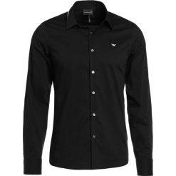 Koszule męskie na spinki: Emporio Armani Koszula biznesowa nero