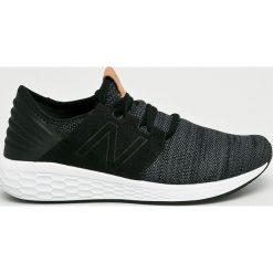 New Balance - Buty MCRUZKB2. Czarne buty skate męskie New Balance, z gumy, na sznurówki. W wyprzedaży za 329,90 zł.