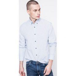 Medicine - Koszula Grand Hotel Budapest. Szare koszule męskie na spinki marki S.Oliver, l, z bawełny, z włoskim kołnierzykiem, z długim rękawem. W wyprzedaży za 79,90 zł.