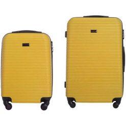 Zestaw Walizek a Sierra Madre 20/24l  żółte. Żółte walizki marki VIP COLLECTION. Za 594,81 zł.