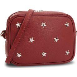 Torebka CREOLE - K10572 Czerwony. Czerwone listonoszki damskie Creole, ze skóry, na ramię. Za 189,00 zł.