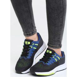 Czarno-Niebieskie Buty Sportowe No Compromise. Pomarańczowe buty sportowe damskie marki Born2be, z materiału. Za 99,99 zł.