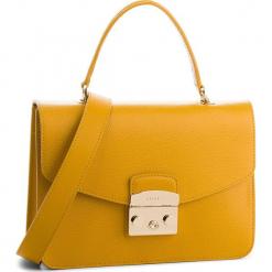 Torebka FURLA - Metropolis 978125 B BLE8 ARE Ginestra e. Żółte torebki klasyczne damskie marki Furla, ze skóry. Za 1470,00 zł.