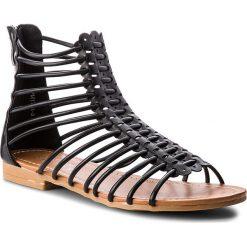 Sandały damskie: Sandały JENNY FAIRY - WM1701-3 Czarny