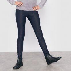 Dżinsy jegginsy, tregginsy. Szare spodnie chłopięce La Redoute Collections, z bawełny, z standardowym stanem. Za 62,96 zł.