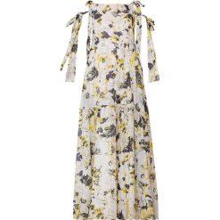 MAX&Co. PATRASSO Długa sukienka ivory pattern. Białe długie sukienki marki MAX&Co., z bawełny, wizytowe, z długim rękawem. W wyprzedaży za 774,50 zł.