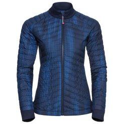Odlo Kurtka damska Midlayer full zip HELIUM COCOON granatowa r. L (527731). Niebieskie bluzy męskie marki Odlo, l. Za 370,97 zł.